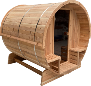 Barrelsauna 210 Knotty